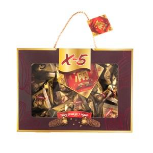 X-5花生巧克力捲心酥金滿足禮盒500g