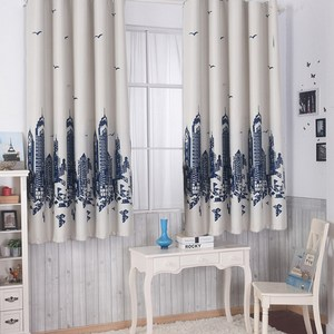 【三房兩廳】心境城堡遮光窗簾-200x165cm(米色)