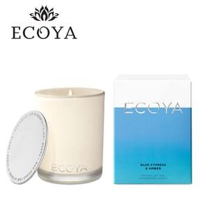 澳洲ECOYA 高雅香氛蠟燭-藍柏琥珀400g