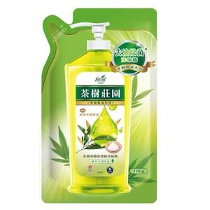 茶樹莊園-茶樹海鹽超濃縮洗碗精補充包