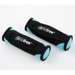 Comefree 肌力鍛鍊軟式啞鈴 2磅(2支一組)-亮采藍