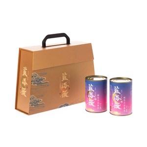 藍海饌晶饌禮盒(蠔皇鮑魚8粒罐裝x2)