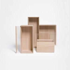 Kirihaco 桐木儲物盒/方型L