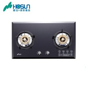 【豪山】歐化玻璃檯面爐(SB-2183)-黑玻璃天然瓦斯