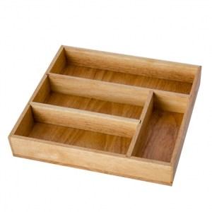餐具四分隔收納盒