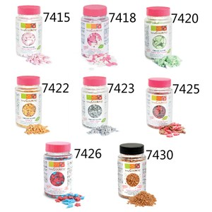 法國ScrapCooking 造型裝飾糖珠系列二(4入組8款可選)4入組(需訂單備註)