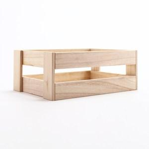 萊利原木手作木條箱 小