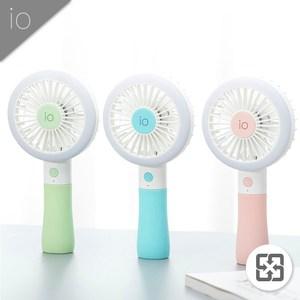 io補光燈手持風扇1入(顏色隨機)