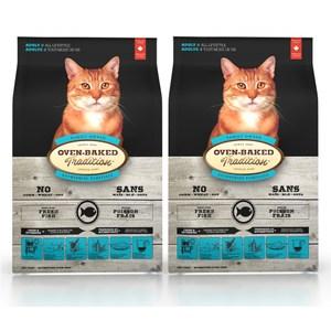 【Oven-Baked】烘焙客 成貓深海魚口味 2.5磅 X 2包