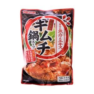 日本丸三泡菜火鍋湯底750g(3~4人)