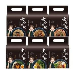 《老媽拌麵》6種口味任選6袋蔥油開洋*3+胡椒麻醬(素)*3