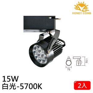 HONEY COMB LED 15W 軌道式燈具 2入一組TK6106-6 白光