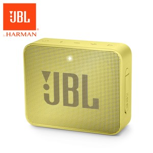 JBL 可攜式防水藍牙喇叭GO 2 萊姆黃