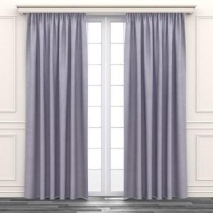 亂紋緹花遮光窗簾 寬200x高165cm 粉色