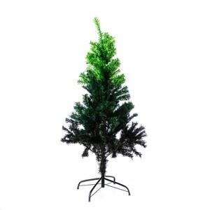 4尺綠色漸變聖誕樹(附鐵腳座)