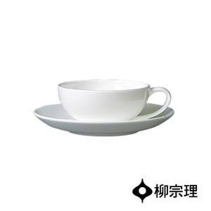 日本柳宗理 骨瓷紅茶杯盤組-2入
