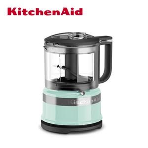 【KitchenAid】3.5 cup 升級版迷你食物調理機(蘇打藍)
