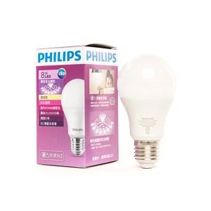 飛利浦 8W 七代 全廣角LED燈泡 黃光 PHILIPS