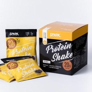 Spark Shake 高蛋白手搖飲(無甜味) 30入- 焙茶拿鐵