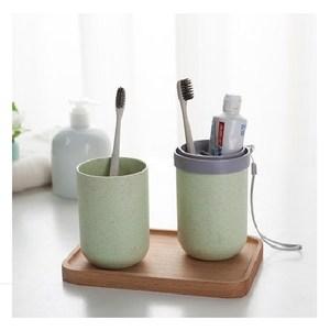 盥洗用具收納杯-綠