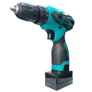 25V增強版電鑽工具33件豪華組藍色