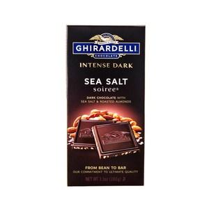美國吉爾德利海鹽杏仁黑巧克力片100g