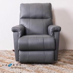 La-Z-Boy 搖椅式休閒椅 10T360 半牛皮 深灰色