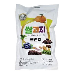 韓國 脆米香-綜合風味 84g*6  (柑橘、綠茶、巧克力、藍莓)