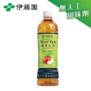伊藤園 TEAS'TEA 蘋果紅茶PET535mLx24入 箱購