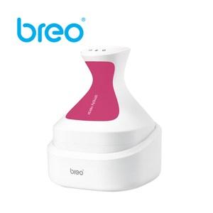 Breo倍輕鬆頭皮SPA按摩器(桃紅)-福利品