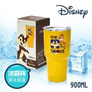 【迪士尼Disney】雙層不鏽鋼真空 冰霸保冰保溫杯 隨行杯-奇奇蒂蒂